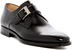 Magnanni Tudanca Leather Buckle Loafer - Wide Width Available at Nordstrom Rack
