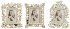 """Willow Row White-Finished 9"""", 10"""", And 11"""" Resin Photo Frames - Set of 3 at Nordstrom Rack"""