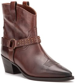 Vintage Foundry Mia Studded Leather Western Boot at Nordstrom Rack
