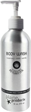 Package Free X Plaine Products Rosemary, Mint & Vanilla Body Wash