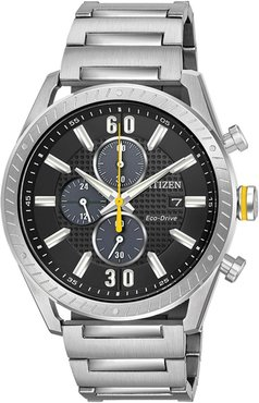 Citizen Men's Standard Stainless Steel Eco-Drive Watch, 43mm at Nordstrom Rack