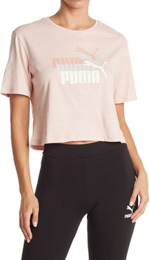 PUMA Triple Threat Cropped Tee at Nordstrom Rack