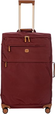 X-Travel 30-Inch Spinner Suitcase - Burgundy