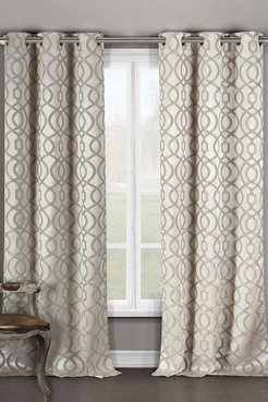 Duck River Textile Harris Blackout Grommet Curtain - Set of 2 - Taupe at Nordstrom Rack