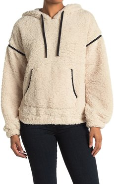 Z By Zella Highland Cozy Faux Shearling Pullover Sweater at Nordstrom Rack