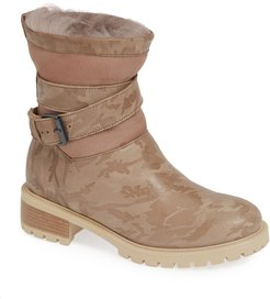 Emilina Genuine Shearling Lined Weatherproof Bootie