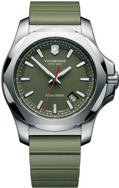 Victorinox Swiss Army Inox Rubber Strap Watch, 43mm at Nordstrom Rack