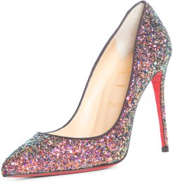Pigalle Follies Glitter Pointed Toe Pump