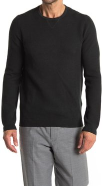 REISS Carnsdale Textured Crew Neck Sweater at Nordstrom Rack