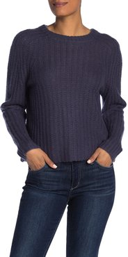 360 Cashmere Pamela Ribbed Wool & Cashmere Blend Sweater at Nordstrom Rack