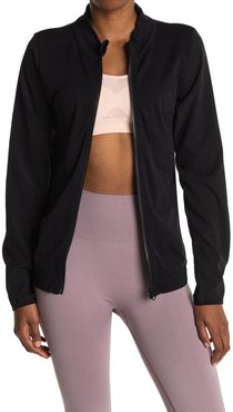Z By Zella Seamless Woven Hybrid Jacket at Nordstrom Rack