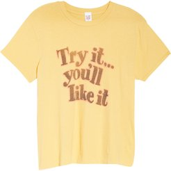'70S Loose Try It Graphic Tee