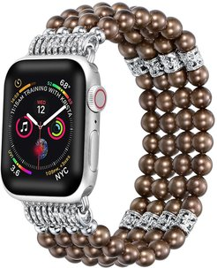 POSH TECH Faux Pearl 38mm/40mm Band for Apple Watch Series 1, 2, 3, 4, 5 at Nordstrom Rack