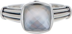 LAGOS Sterling Silver White Crystal Ring - Size 7 at Nordstrom Rack