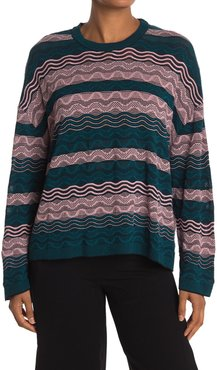 M Missoni Colorblock Striped Pullover Sweater at Nordstrom Rack