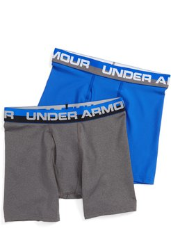 Boy's Under Armour 2-Pack Boxer Briefs