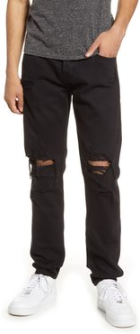 7 For All Mankind Paxtyn Ripped Skinny Fit Jeans