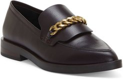 Pacey Chain Pointed Toe Loafer