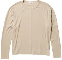 Socialite Crew Neck Dolman Sleeve Ribbed Sweater at Nordstrom Rack