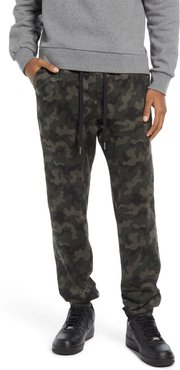 Camo Stretch Cotton Joggers