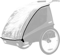 Infant Thule Protective Rain Cover For Coaster/cadence Bike Trailer