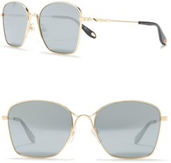 Givenchy 56mm Square Sunglasses at Nordstrom Rack