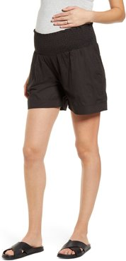 Relax Fit Maternity Shorts