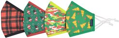 Assorted 4-Pack Youth Face Masks