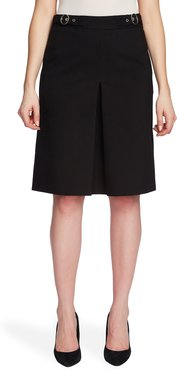 A-Line Inverted Pleat Skirt