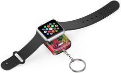 Tech Elements Red Floral Apple Watch Portable Backup Battery & Charger at Nordstrom Rack