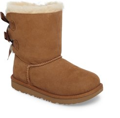 Girl's UGG Bailey Bow Ii Water Resistant Genuine Shearling Boot