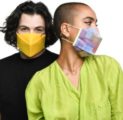 Adult Pleated Face Mask