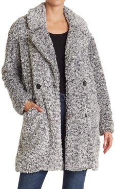 Lucky Brand Frosted Faux Shearling Fleece Coat at Nordstrom Rack