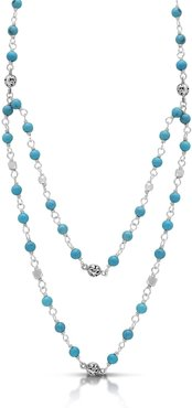 Lois Hill Sterling Silver Turquoise Layered Necklace at Nordstrom Rack