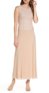 Sequin Bodice Gown