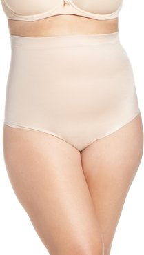Plus Size Women's Spanx Suit Your Fancy High Waist Thong