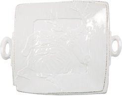 Lastra Winterland Handled Square Serving Platter