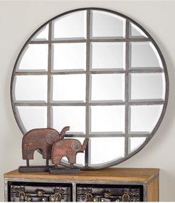 Willow Row Silver/Reflective Modern Wood Wall Mirror at Nordstrom Rack