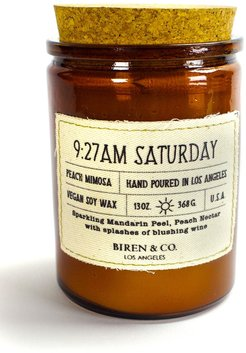 BIREN AND CO 9:27AM Saturday Peach Mimosa Candle at Nordstrom Rack