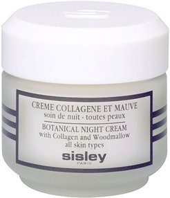 Sisley Cosmetics Botanical Night Cream With Collagen And Woodmallow, Size 1.6 oz