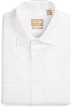 Tailored Fit Solid Dress Shirt
