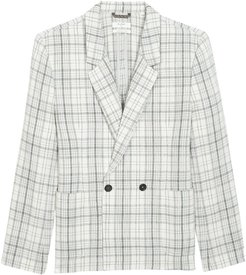 Billy Reid Double Breasted Plaid Jacket at Nordstrom Rack
