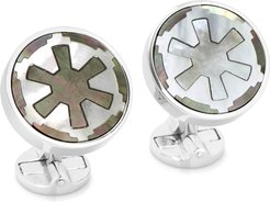 Imperial Sterling Silver Cuff Links