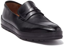 BALLY Relon Leather Penny Loafer - Extra Wide Width at Nordstrom Rack