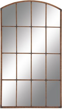 """Willow Row Large Rectangular Arched Copper Window Mirror - 40"""" x 71"""" at Nordstrom Rack"""