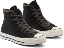 Chuck Taylor All Star 70 High Top Sneaker With Faux Fur Trim