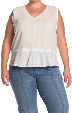 14TH PLACE V-Neck Peplum Top at Nordstrom Rack