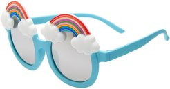 Infant Boy's Loose Leaf Eyewear Rainbow Mirrored Sunglasses -