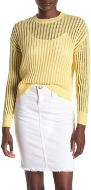 CODEXMODE Open Stitch Pullover Sweater at Nordstrom Rack
