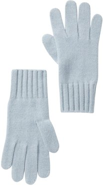 Portolano Cashmere Wide Ribbed Cuff Gloves at Nordstrom Rack